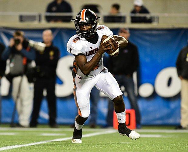 Lakeland quarterback Dywonski McWilliams.