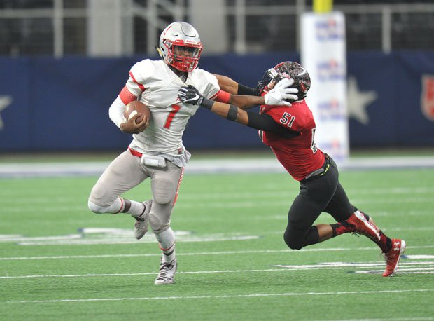 Bremond quarterback Roshauud Paul never lost a high school football game, going 47-0.