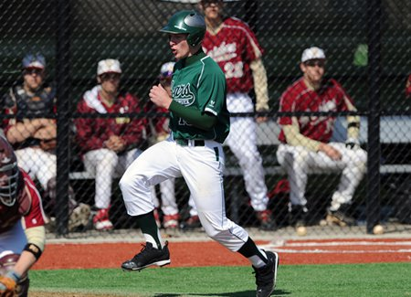 Carl Thomore's baseball career is up and running again.