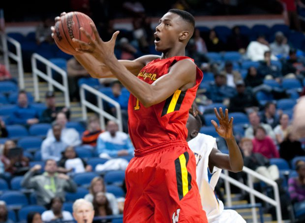 Harry Giles led Wesleyan Christian with 18 points and 11 rebounds in the NCISAA Class 3A state championship game.