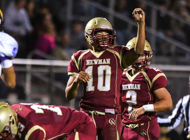 California's Cardinal Newman in No. 11 nationally for small schools.