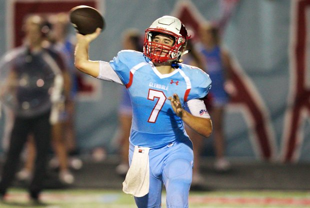 Glendale (Springfield, Mo.) quarterback Alex Huston needed just 20 games to reach 10,000 yards passing.