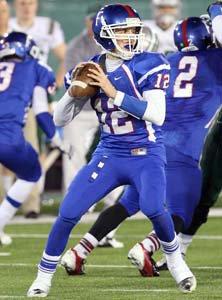 Folsom quarterback Jake Browning.