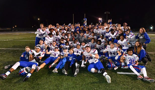 Folsom after winning its second straight state title and fourth overall.
