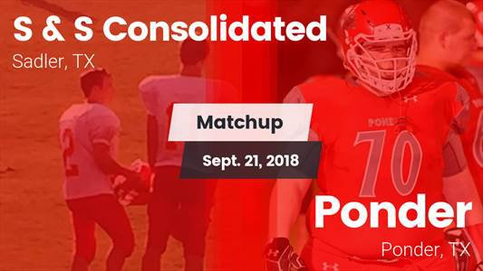 Football Game Recap: S & S Consolidated vs. Ponder