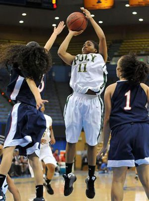 Brittany Wilson, Long Beach Poly