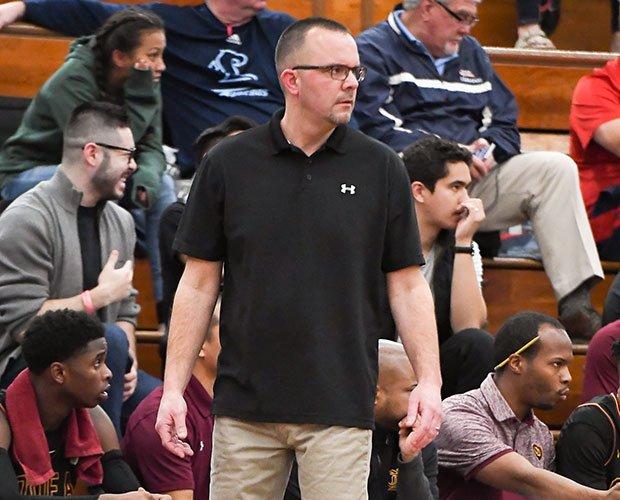 Head coach Jason Kerr