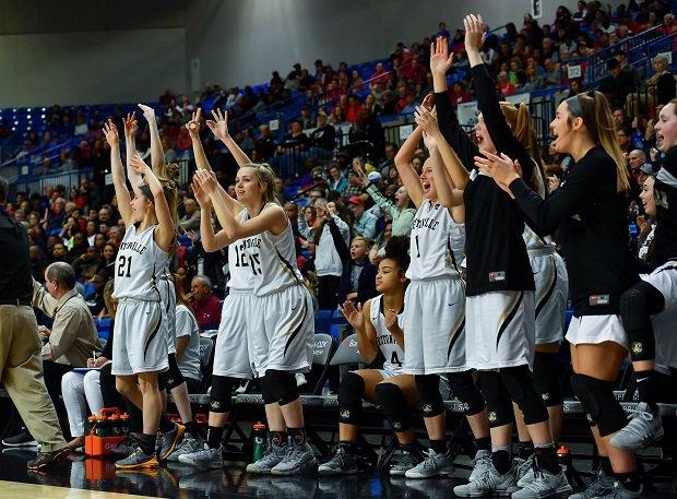 Bentonville (Ark.) girls basketball