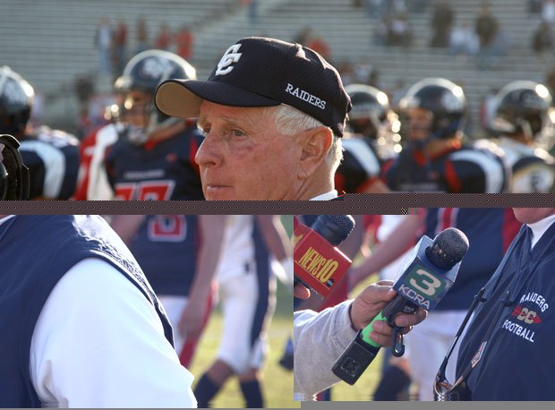 Mike Glines got one final chance to coach Central Catholic in his storied career when the Bowl Selection Committee chose his team over Sutter in 2007.