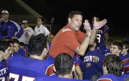 John T. Curtis II won career game No. 500 with ease Thursday night. He's the second man to accomplish the feat.