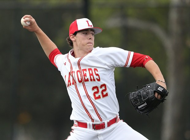 Orange Lutheran's Cole Winn was taken No. 15 by the Texas Rangers in the first round of the 2018 MLB Draft. He was one of 17 high school players taken in the first round, the most since 2000.