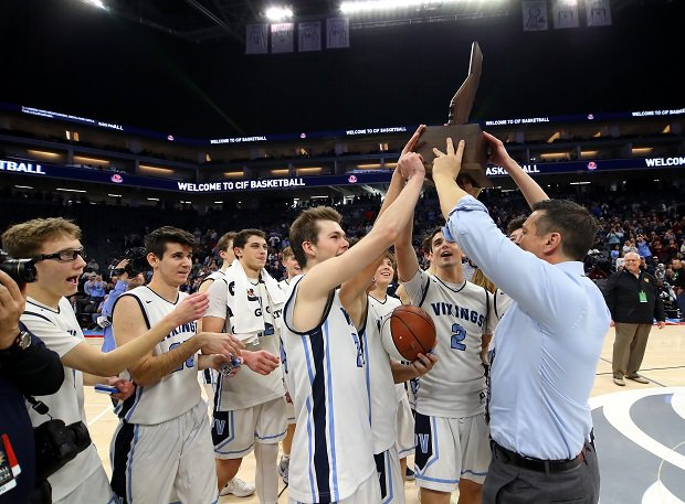 Tim Keating guided the Pleasant Valley Vikings to the CIF Division III title, the first in school history.