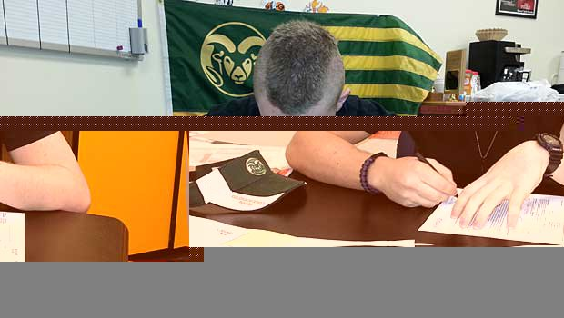Zack Golditch is now heading to Colorado State after overcoming being shot.