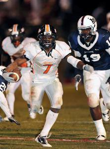 Justin McArthur scored a crucial touchdown for Hoover.