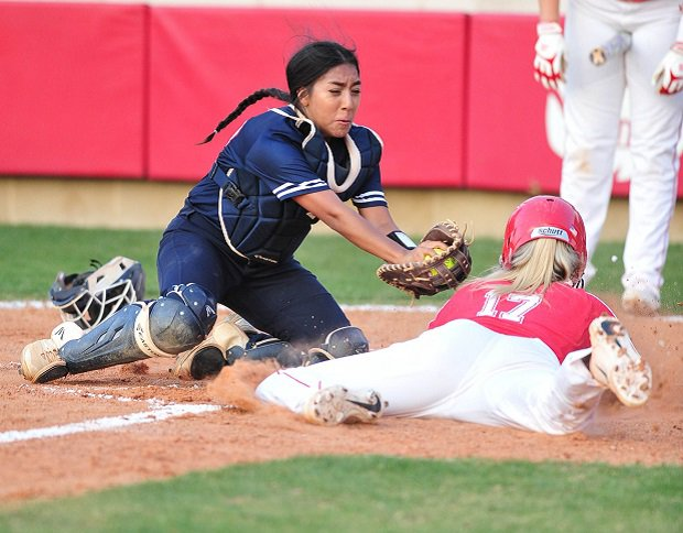 Katy is No. 2 and could meet No. 1 Canyon in the Texas 6A finals on June 2.