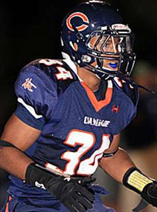 Terrell Newby scored 43 touchdowns for Chaminade as a senior.