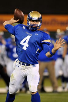 Santa Margarita junior Johnny Stanton contributed with both  his arm and legs.