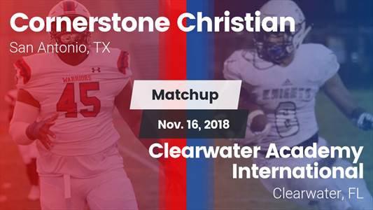 Football Game Recap: Clearwater Academy International vs. Cornerstone Christian