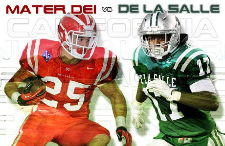 A De La Salle matchup with Mater Dei highlights 10 playoff games MaxPreps would like to see.