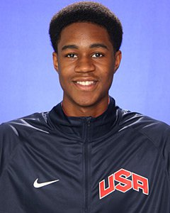 V.J. King will play for the USA U16 National Team this summer.