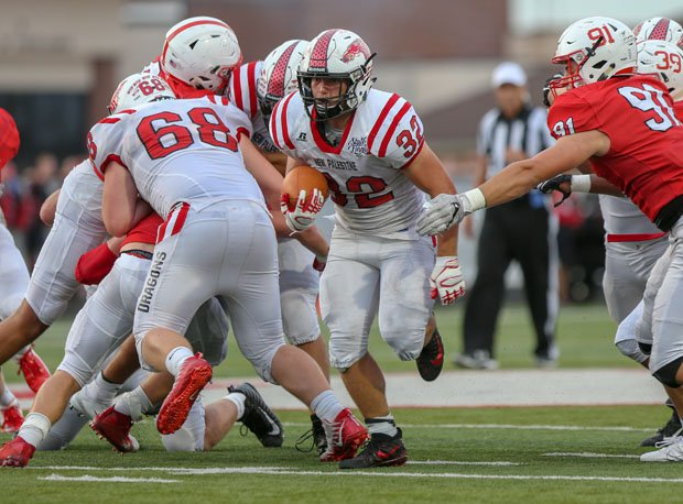 Charlie Spegal became Indiana's career rushing leader in just the third game of his senior season on Friday.
