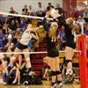 Papillion-LaVista South edges St. James Academy in high-ranking volleyball matchup