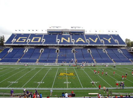 Long before fans began to show for Saturday's Patriot Classic at the Naval Academy in Annapolis.