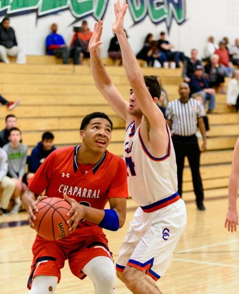 Chaparral junior Ronnie DeGray has the Wolverines (10-2) in the thick of the Class 5A title chase. DeGray is averaging 20 points a game at the midpoint of the season.