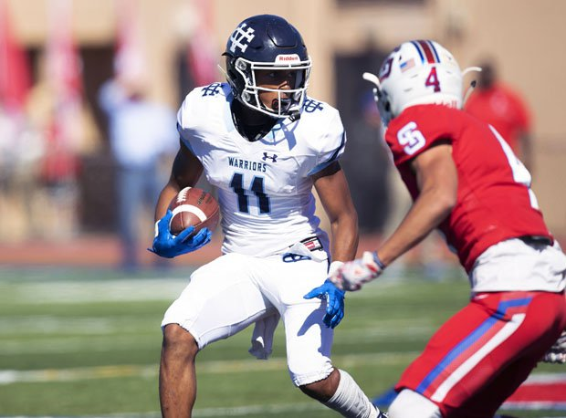 Isaiah McElvane is Valley Christian's speedy leading rusher.