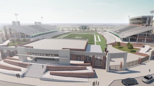 Prosper's stadium will be paid for by a $710 million bond passed nearly a decade ago.