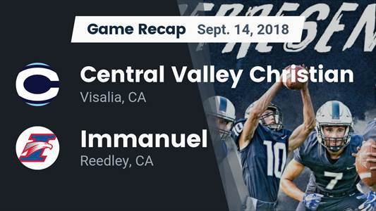 Football Game Preview: Immanuel vs. Viewpoint