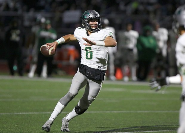 Jake Garcia, seen playing at Narbonne, has transferred to Grayson, according to media reports, after being ruled ineligible at Valdosta.