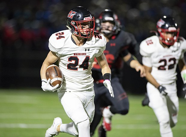 Muskego defensive back Hunter Wohler has committed to Wisconsin. He is the state's No. 2 overall prospect.