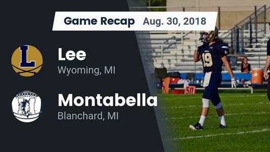 Football Game Recap: Montabella vs. Carson City-Crystal