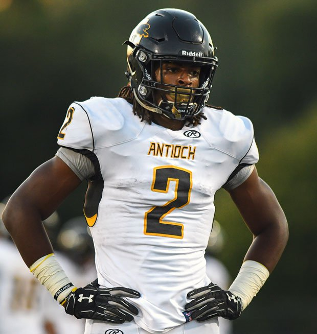 Najee Harris and Antioch combined with Lincoln of Stockton for one of the highest scoring football games of the season -- a 67-38 Antioch win.