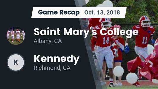 Football Game Preview: Kennedy vs. St. Patrick-St. Vincent