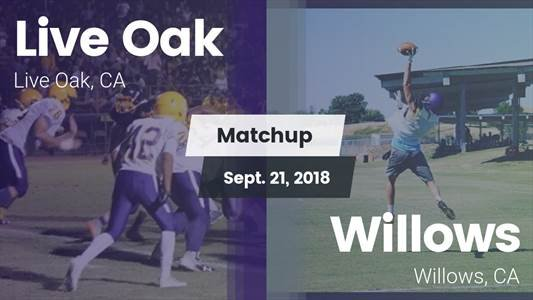 Football Game Recap: Willows vs. Live Oak