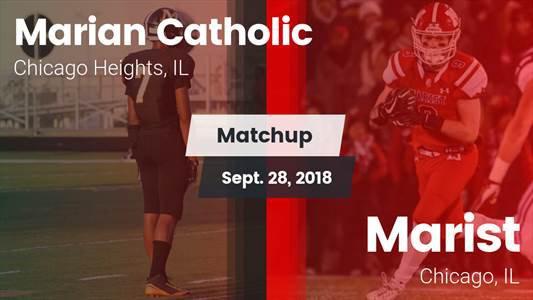 Football Game Recap: Marist vs. Marian Catholic