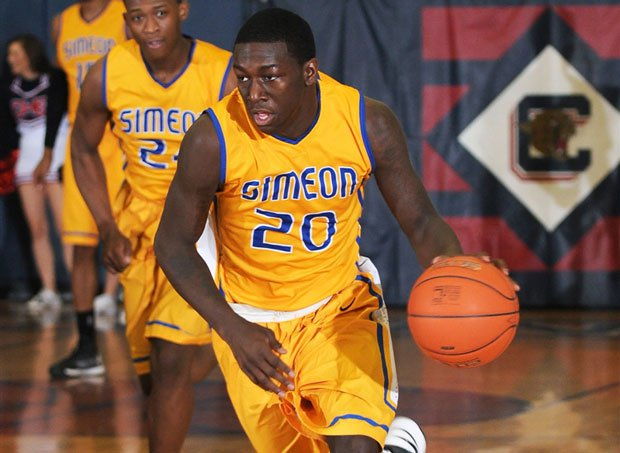 Kendrick Nunn and No. 2 Simeon could face a pair of nationally-ranked Chicago rivals this week.