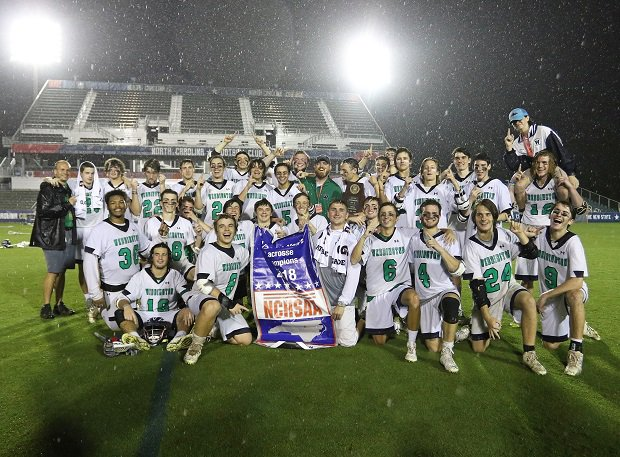 Weddington won the North Carolina 3A-1A lacrosse crown.