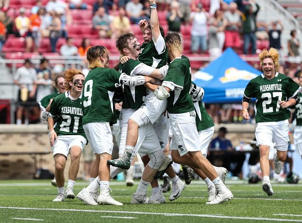 Pleasantville won the New York Class D lacrosse title.