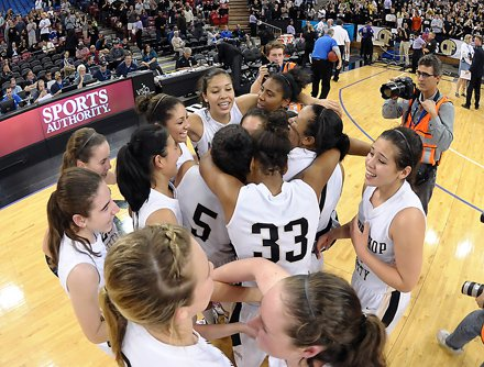 Mitty rejoices fifth state title.