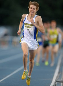Lukas Verzbicas at last broke the magical 4-minute mile barrier.