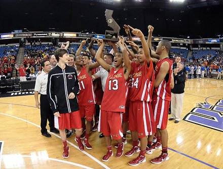 Village Christian celebrated its first state championship.