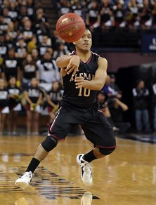 Alemany's Max Guercy had 19 points and seemed to will his team back into the game.