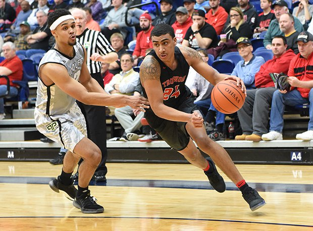Trotwood-Madison's Torry Patton was named the D-II Ohio co-player of the year this week.