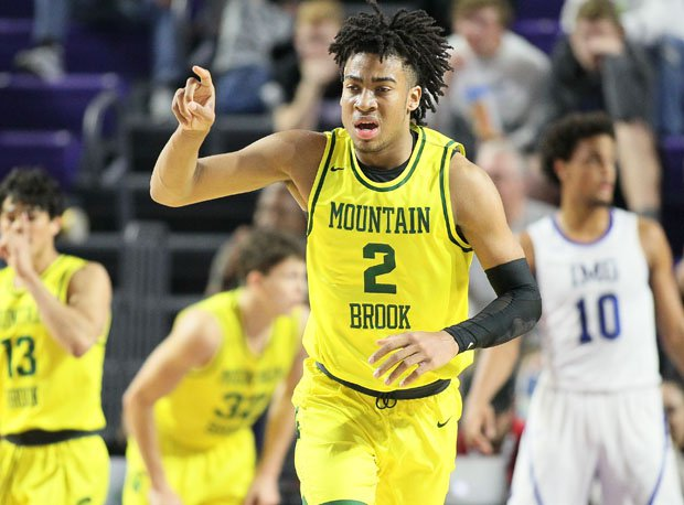 Trendon Watford won three state titles at Mountain Brook.