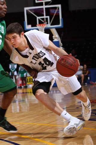 St. Francis guard Tyler Johnson had 10 points, 8 rebounds.