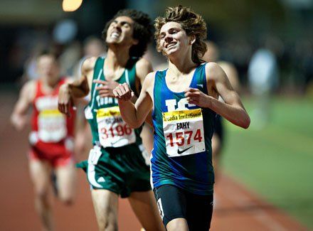 Darren Fahy is hopeful for another sub-9-minute 3,200 time at next month's Arcadia Invitational.