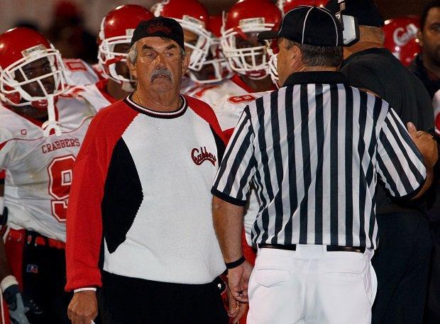 Hampton coach Mike Smith